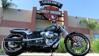 2017 Harley-Davidson Softail Breakout (FXSB)│Review and Test Ride