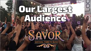 Santana Tribute Band | Our Largest Audience