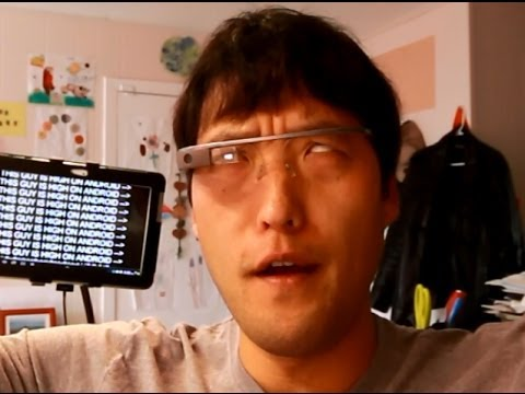 Google Glass Review and See-Through Demo!