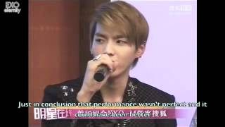 [Eng] 120411 EXO-M Sohu Live Chat pt 2