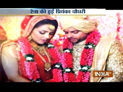 Suresh Raina ties the knot with childhood friend Priyanka Chowdhary