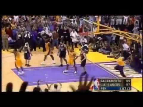 Lakers vs Kings WCF - Robert Horry Buzzer Beater