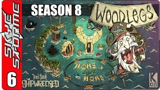 ►A BASE WITH FREE FOOD - FISHERMERMS!◀ Don't Starve Shipwrecked Woodlegs S8E6