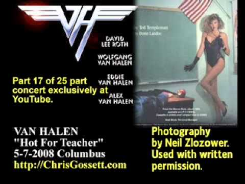 Van Halen-Live-Rare-Unreleased-2008-Hot For Teacher-17 of 25
