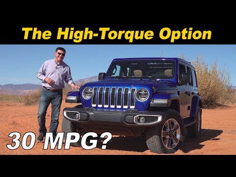 2020 Jeep Wrangler EcoDiesel First Drive | Oil Burnin' Off-Road