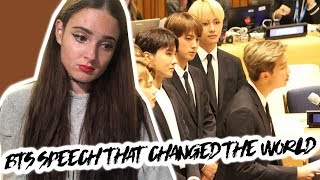 BTS SPEECH @ UNICEF #YOUTH2030 REACTION