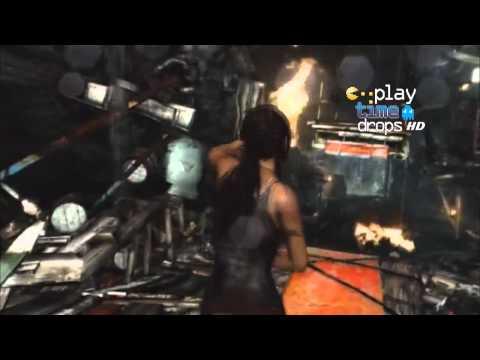 Programa PlayTime Drops mostrando o aguardado Tomb Raider. Nesta nova aventura (que não tem nenhuma referência às anteriores), Lara está com 21 anos e se vê ...