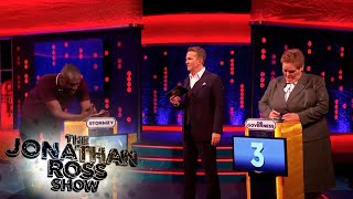 Stormzy Plays The Chase Against The Governess - The Jonathan Ross Show