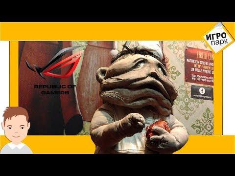Very strange stand of Little Nightmares on Gamescom 2017