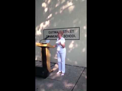 Newark Global Village School Zone - Stop Drop and Read - June 8, 2011
