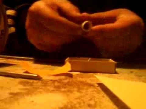 Как сделать дымовуху из бумаги и спички