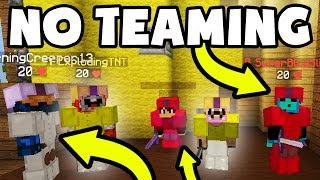 BREAKING THE RULES IN BED WARS!! | Minecraft