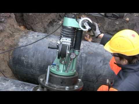 Врезка в трубопровод под давлением