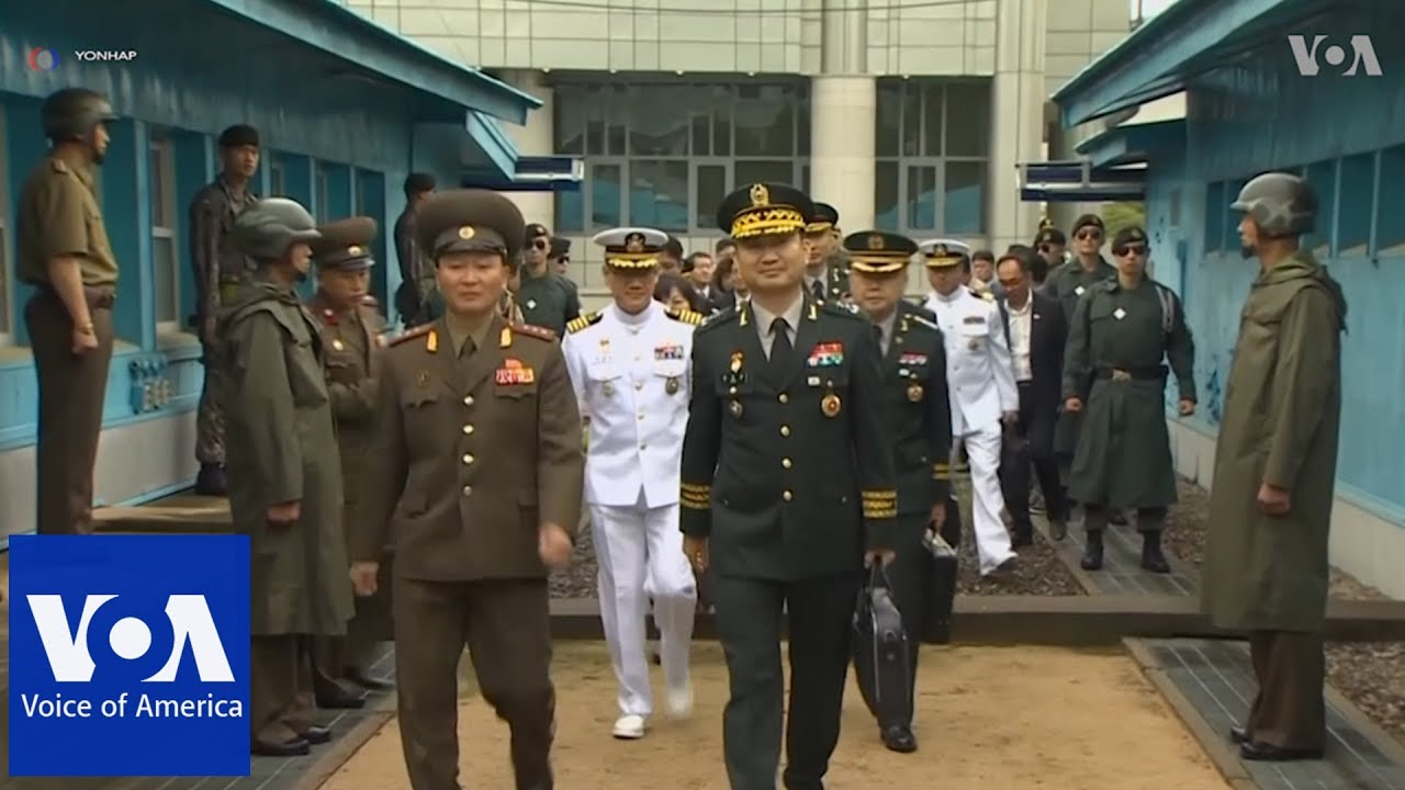 North Korea and South Korea Hold Military Talks