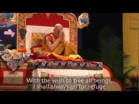 Awakening Mind Chant With Dalai Lama (english) video