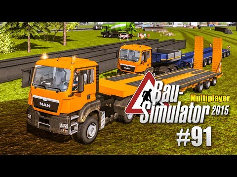 Bau-Simulator 2015 Multiplayer #091 - Brückenelemente gießen! CONSTRUCTION SIMULATOR