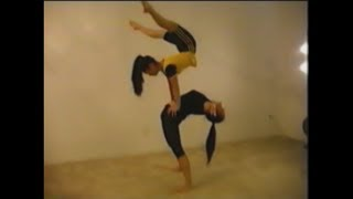 Extreme flexibility of chinese acrobats