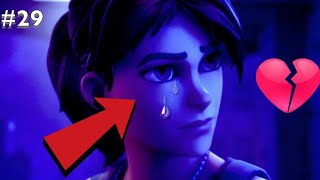 Saddest Moments in Fortnite #29 (TRY NOT TO CRY)
