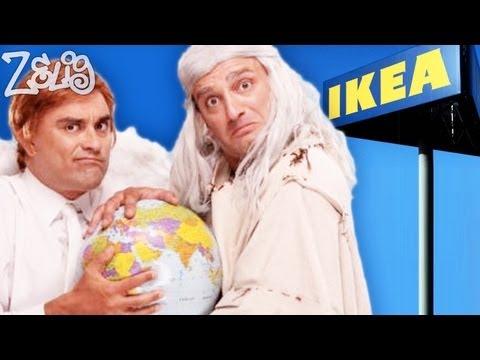 Dio, Gabriele e l'Ikea – Pablo e Pedro a Zelig