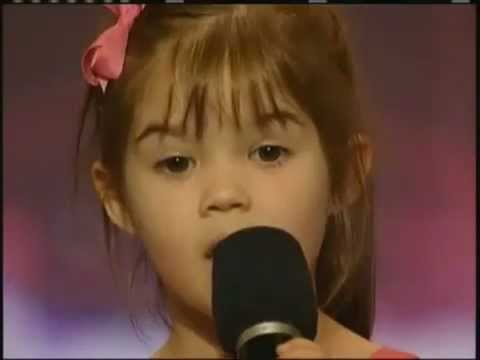 Kaitlyn Maher, 4 Year Old Singer - America's Got Talent video