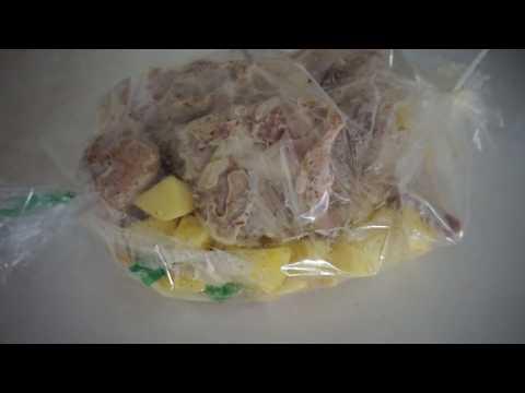 Как приготовить сочного кролика в духовке ,кролик запеченный с картошкой в рукаве от нас