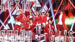 Hot Nct 127 Simon Says 엔시티 127 Simon Says Show Music Core 20181208