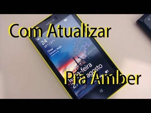 Atualizando Lumia Amber Windows phone 8 com Nokia care Suite