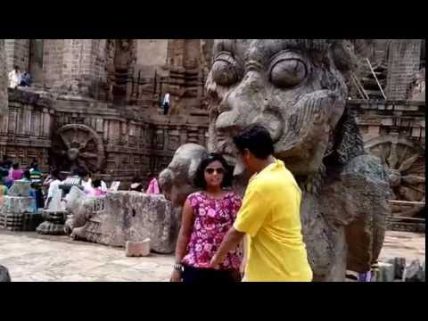 The Konark Sun Temple and Garden,Konark ,Puri ,Odisha,India