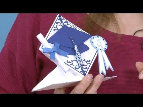 Make a 3D Graduation Card | In The Studio