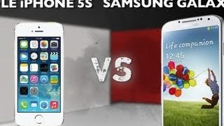 Prizefight – Iphone 5S versus Samsung Universe S4