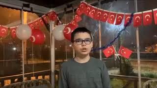 Pazaryeri Atatürk Ortaokulu 23 Nisan etkinliği
