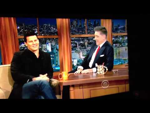 David Boreanaz on Craig Ferguson Part 1. Feb 5, 2013