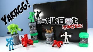 #Stikbot Monsters Toys Special Collection Box Review Zing