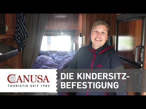 CANUSA erklärt: Wie befestige ich einen Kindersitz im Wohnmobil? | CANUSA