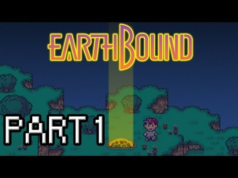 Earthbound Walkthrough - Part 1 - Everything's Weird In Smiley Town