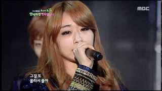 120311 Nine muses News@MBC spring concert