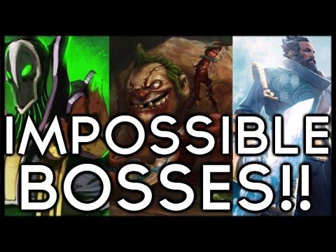 Dota 2 Mods | IMPOSSIBLE BOSSES!!