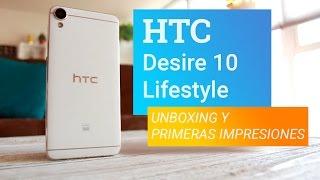HTC Desire 10 Lifestyle: Unboxing y primeras impresiones - Bitfeed