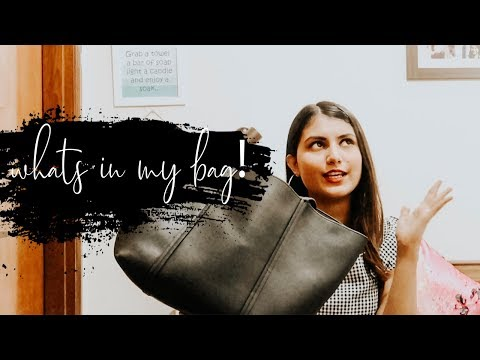 What's (currently) in my bag? | Cherry Jain