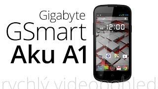 Gigabyte GSmart Aku A1 (rychlý videopohled)