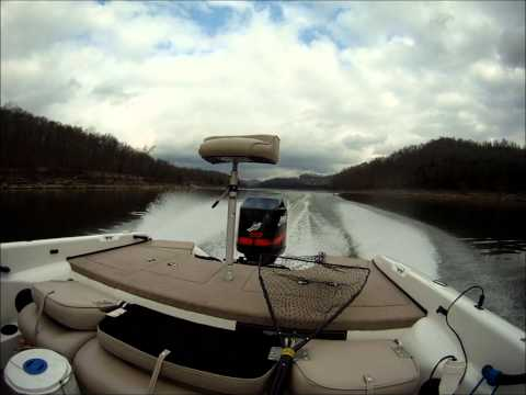 Fishing with Forrest Final at Center Hill Lake Tennessee 1-7-11.wmv