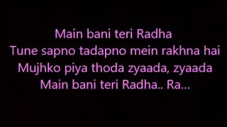 download lagu Radha Lyrics Jab Harry Met Sejal gratis