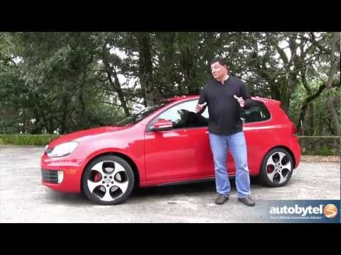 2012 Volkswagen GTI DSG Test Dive & Car Video Review