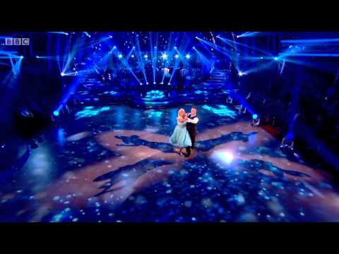 "James and Vanessa dance the Waltz to ""Run to You"" by Whitney Houston. The dance scored a total of 23 with the judges."