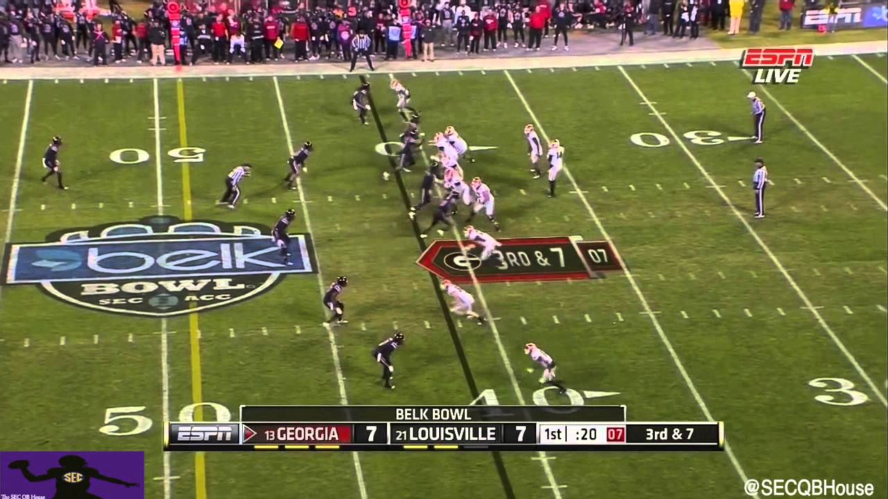 Hutson Mason vs Louisville (2014)