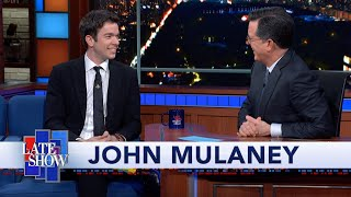 John Mulaney Explains How David Byrne Inspired His Comedy