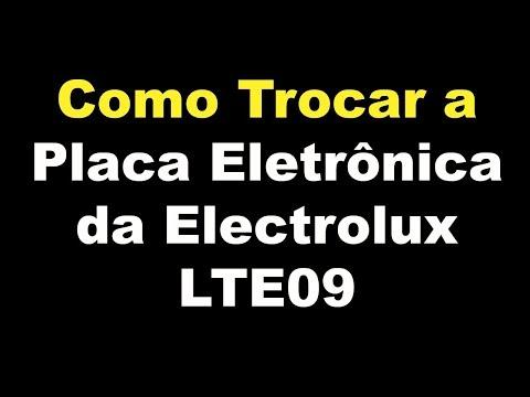 Como Trocar a Placa Eletrônica da Electrolux LTE09