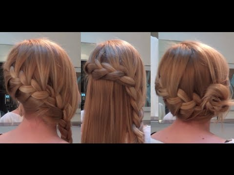 10 Easy Quick Everyday Hairstyles for long hair : Side French Braid Edition Music Videos