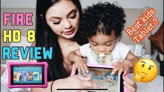 TODDLER'S FIRST TABLET Amazon Fire HD 8 Review | Genna Therese