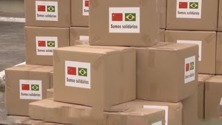 China sends more medical equipment to Brazil